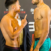 NLD/Amsterdam20160624 - Glory 31 / Weigh in, Maximo Suarez vs Eyevan Danenberg