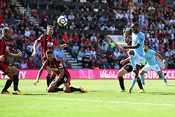 Raheem Sterling of Manchester City scores the wing goal - Mandatory by-line: Alex James/JMP - 26/08/2017 - FOOTBALL - Vitality Stadium - Bournemouth, England - Bournemouth v Manchester City - Premier League