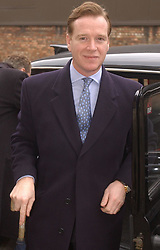 James Hewitt arrives at Blackfriars Crown Court in London. He  is appealing against a decision that had his firearms certificates taken off him after he was cautioned for the possesion of drugs.