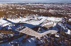 THEMENBILD - der Holmenkollbakken in der norwegischen Haupstadt, aufgenommen am 08. Maerz 2019 in Oslo, Norwegen // of the Holmenkollbakken in the Norwegian capital City, Oslo, Norway on 2018/03/08. EXPA Pictures © 2019, PhotoCredit: EXPA/ JFK
