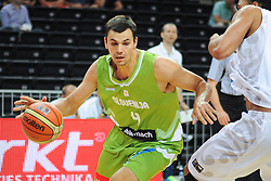 Jure Balazic of Slovenia during friendly match between National Teams of Slovenia and New Zealand before World Championship Spain 2014 on August 16, 2014 in Kaunas, Lithuania. Photo by Robertas Dackus / Sportida.com