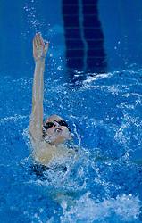 Jost Suhadolc, PK Ilirija,  na zimskem drzavnem prvenstvu mlajsih deklic in deckov v plavanju v 25m bazenu , 8. februar 2009, bazen Tivoli, Ljubljana, Slovenija. (Photo by Vid Ponikvar / Sportida)