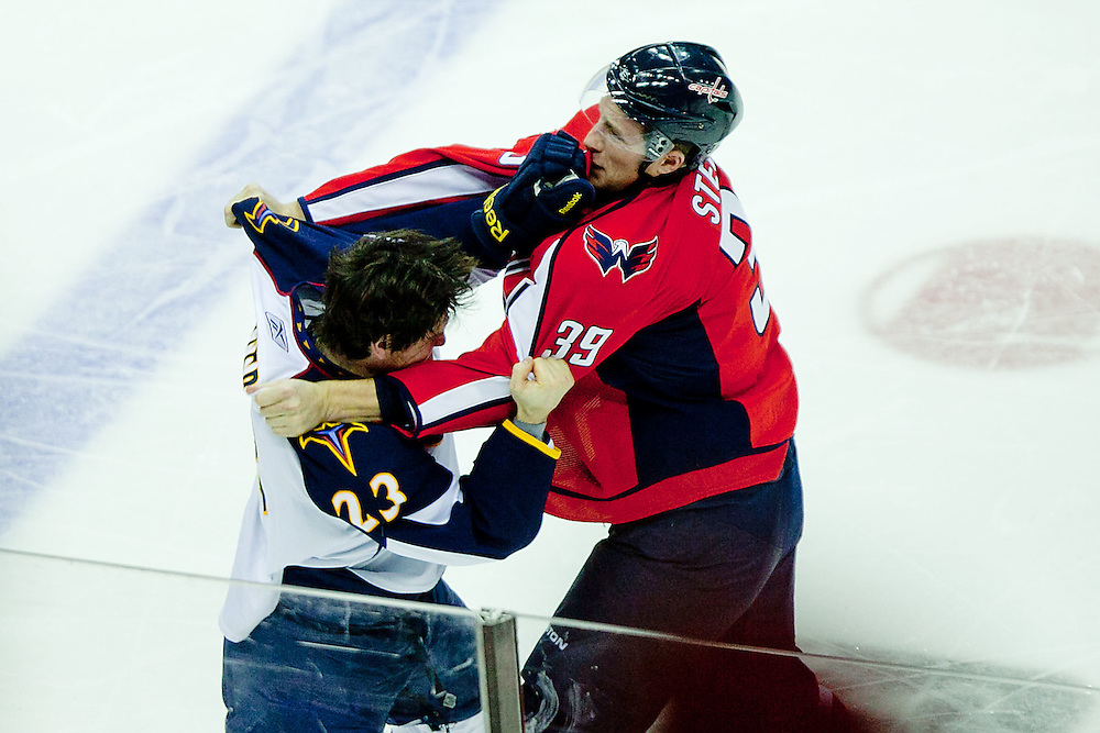 Washington, Dec. 4, 2010 - Caps vs. Thrashers -  (Photo by Jay Westcott/TBD)