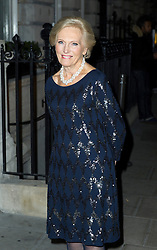 © Licensed to London News Pictures. 02/12/2013, UK. Mary Berry , Red's Hot Women Awards cocktail party, The London EDITION hotel, London UK, 02 December 2013. Photo credit : Raimondas Kazenas/Piqtured/LNP