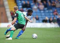 Greg Leigh of Bury (R) in action - Mandatory by-line: Jack Phillips/JMP - 02/09/2017 - FOOTBALL - Gigg Lane - Bury, England - Bury v Scunthorpe United - English Football League One
