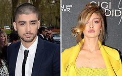 Undated file photos of Zayn Malik and Gigi Hadid, as the two have confirmed that they have split up.