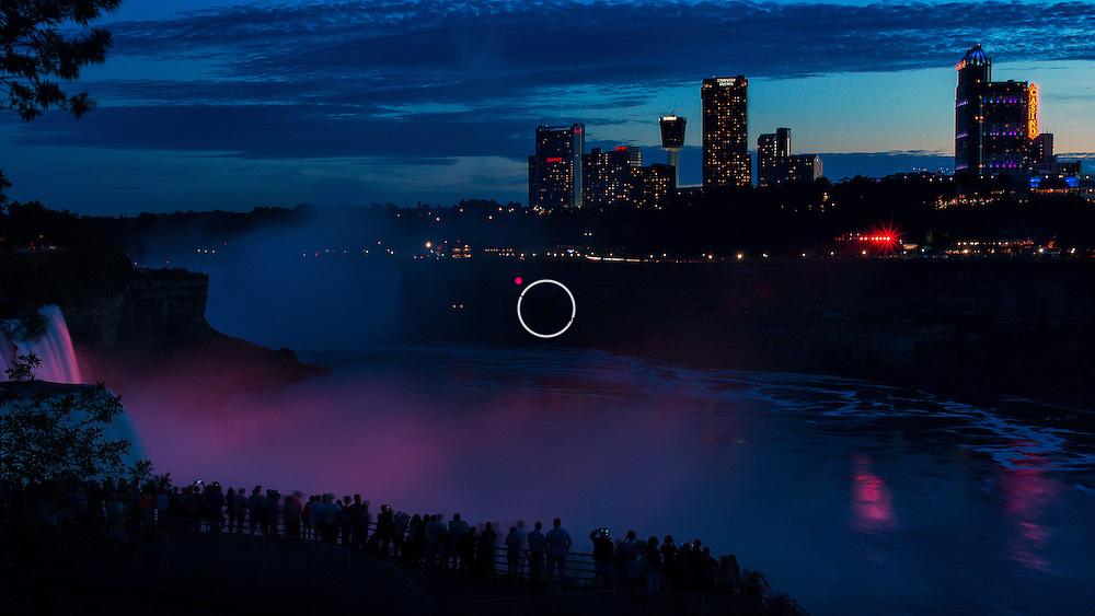 Niagara Falls Nightscape