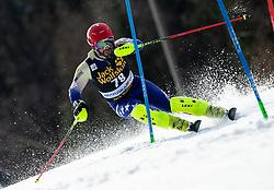 TAHIRI Albin of Kosovo during the Audi FIS Alpine Ski World Cup Men's Slalom 58th Vitranc Cup 2019 on March 10, 2019 in Podkoren, Kranjska Gora, Slovenia. Photo by Matic Ritonja / Sportida