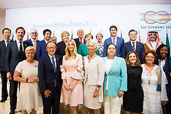 "Ivanka Trump releases a photo on Instagram with the following caption: ""Today at the #G20 World Leaders launched the Women Entrepreneurs Finance Initiative (We-Fi) with the World Bank Group. This unprecedented facility, initiated by the U.S., will help address the unique barriers for women entrepreneurs in the developing world by providing access to capital, markets and networks. We-Fi will have a profound impact on the women's entrepreneurial ecosystem around the world. #WeFi #POTUSatG20 #Entrepreneurship \ud83d\udcf8: Official White House Photo by Shealah Craighead"". Photo Credit: Instagram *** No USA Distribution *** For Editorial Use Only *** Not to be Published in Books or Photo Books ***  Please note: Fees charged by the agency are for the agency's services only, and do not, nor are they intended to, convey to the user any ownership of Copyright or License in the material. The agency does not claim any ownership including but not limited to Copyright or License in the attached material. By publishing this material you expressly agree to indemnify and to hold the agency and its directors, shareholders and employees harmless from any loss, claims, damages, demands, expenses (including legal fees), or any causes of action or allegation against the agency arising out of or connected in any way with publication of the material."