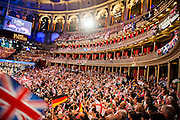 The Last Night of the BBC Proms at the Royal Albert Hall, London -  With the usual wide range of popular music including - a Mary Poppins medley, Ol Man River, the Sabre Dance, Rule Britannia, Pomp and Circumstance and Jerusalem. Performed by conductor, Sakari Oramo, the BBC Symphony Orchestra, Chorus and Singers with soloists including Ruthie Henshall. PRESS ASSOCIATION Photo. Picture date: Saturday September 13, 2014. Photo credit should read: Guy Bell/PA Wire