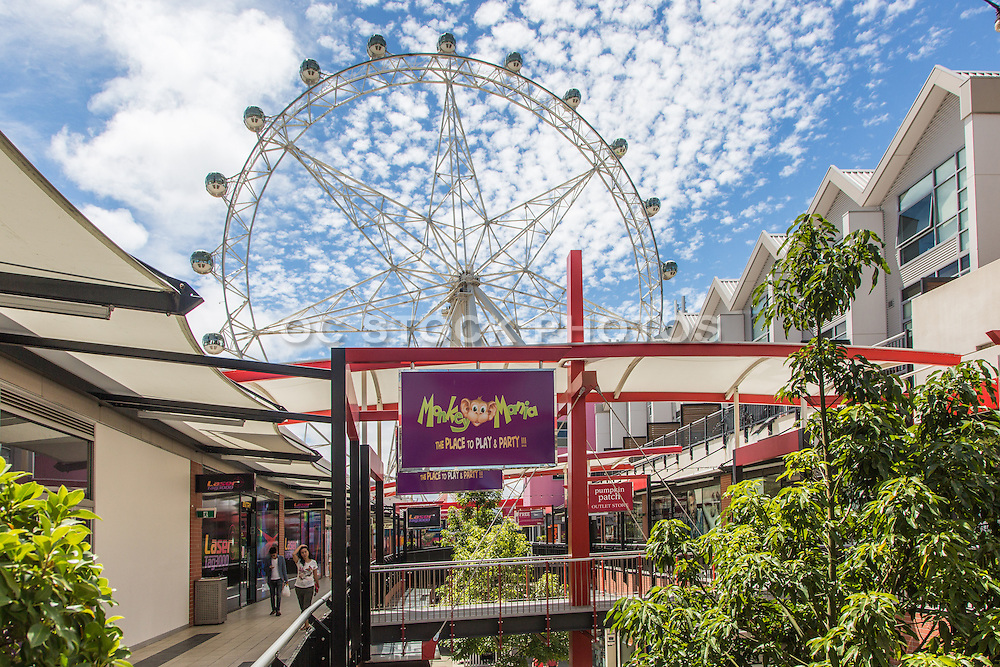 Melbourne Star Observation Wheel at Harbour Town Shopping Center