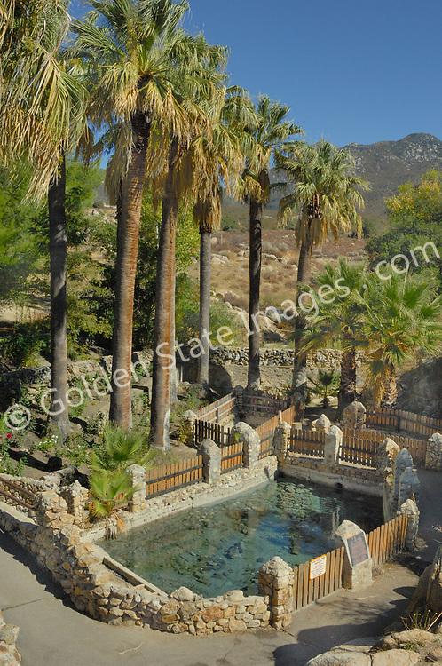 Warner Hot Springs is located in the eastern portion of San Diego County, north of Julian and west of Borrego Desert. <br /> <br /> The natural mineral springs made a perfect location for a resort that includes pools and a spa, equestrian center and golf course.