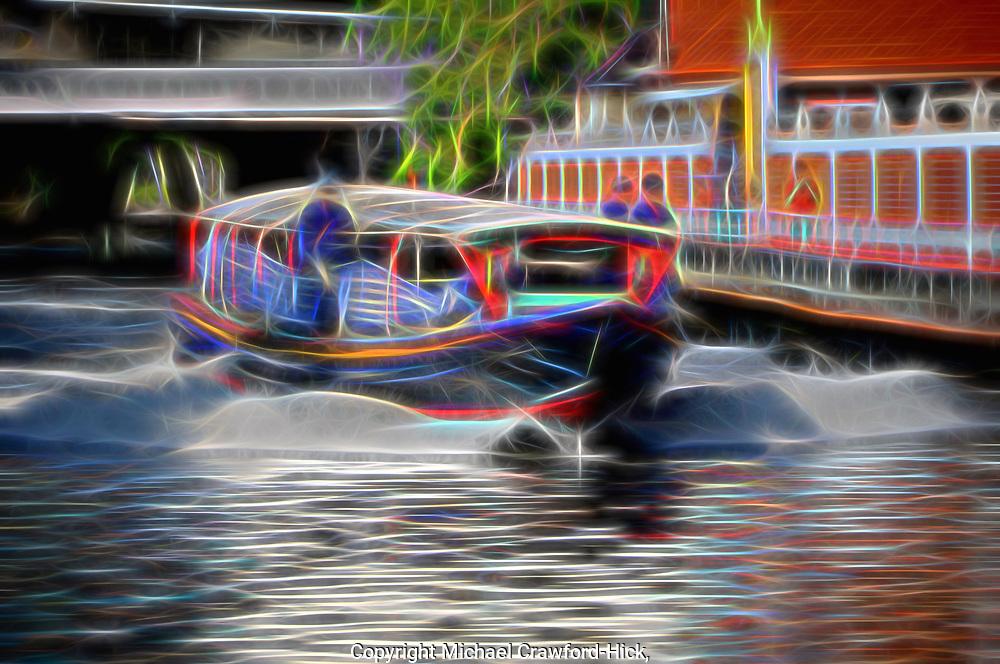 River Transport, Bangkok, Thailand