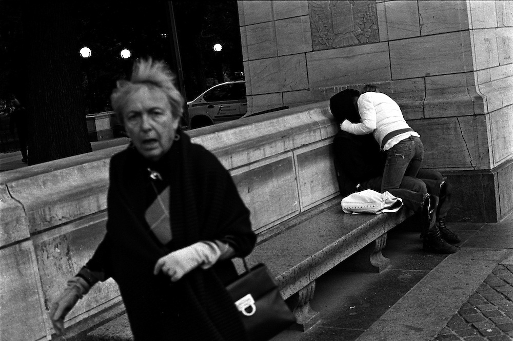 """""""I See a Darkness"""" Project...New York, New York. October 2006.<br />"""