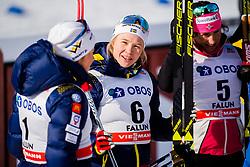 March 16, 2018 - Falun, SVERIGE - 180316 Jonna Sundling, Sverige, efter finalen i sprint under Svenska Skidspelen den 16 mars 2018 i Falun  (Credit Image: © Simon HastegRd/Bildbyran via ZUMA Press)