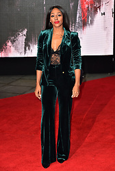 Alexandra Burke attending the european premiere of Star Wars: The Last Jedi held at The Royal Albert Hall, London.