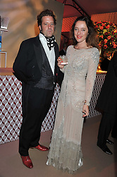 ALICE TEMPERLEY and LARS VON BENNIGSEN at the Raisa Gorbachev Foundation Gala held at the Stud House, Hampton Court, Surrey on 22nd September 22 2011