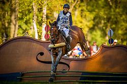 De Liedekerke Lara (BEL) - Nyala d Arville<br /> Cross country 6 years old horses<br /> Mondial du Lion - Le Lion d'Angers 2014<br /> © Dirk Caremans<br /> 18/10/14