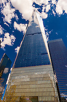 One World Trade Center  (the tallest skyscraper in the Western Hemisphere and 4th tallest in the world), New York, New York USA.