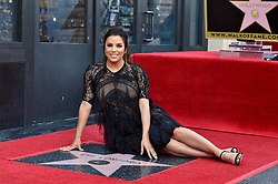 Eva Longoria honored with star on the Hollywood Walk of Fame. Hollywood, California. Pictured: Felicity Huffman, Eva Longoria, Anna Faris, Ricky Martin. EVENT April 16, 2018. 16 Apr 2018 Pictured: Eva Longoria. Photo credit: AXELLE/BAUER-GRIFFIN/MEGA TheMegaAgency.com +1 888 505 6342