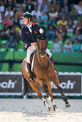 Scott Brash, (GBR), Hello Sanctos - First Round Team Competition Jumping Speed - Alltech FEI World Equestrian Games™ 2014 - Normandy, France.<br /> © Hippo Foto Team - Leanjo De Koster<br /> 03-09-14