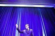 26022013. Paris. Meeting de François Fillon à la Mutualité où il annonce ses projets politiques pour les prochaines années.