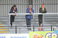 Blackpool fans enjoy the pre-match atmosphere <br /> <br /> Photographer Kevin Barnes/CameraSport<br /> <br /> Emirates FA Cup First Round - Exeter City v Blackpool - Saturday 10th November 2018 - St James Park - Exeter<br />  <br /> World Copyright © 2018 CameraSport. All rights reserved. 43 Linden Ave. Countesthorpe. Leicester. England. LE8 5PG - Tel: +44 (0) 116 277 4147 - admin@camerasport.com - www.camerasport.com