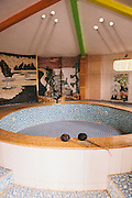 My Lam Hot Springs private jacuzzi room.