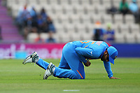 Cricket - 2019 ICC Cricket World Cup - Group Stage: South Africa vs. India<br /> <br /> Rohit Sharma of India makes the catch to take Indias first wicket of the World cup at the Hampshire Bowl Southampton England<br /> <br /> COLORSPORT/SHAUN BOGGUST