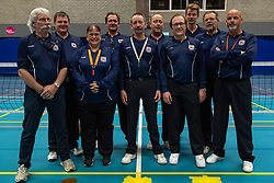 20-04-2019 NED: Dirk Kuyt Foundation Cup, Veenendaal<br /> National Cup sitting volleyball in Veenendaal / The Referees