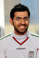 Asian Football Confederation - ASIAN CUP 2015 - Qualifing Match /<br /> Lebanon vs Iran 1-4  ( Sports City Stadium  - Beyrut , Lebanon ) <br /> Pejman Montazeri of Iran , during the match between Lebanon and Iran