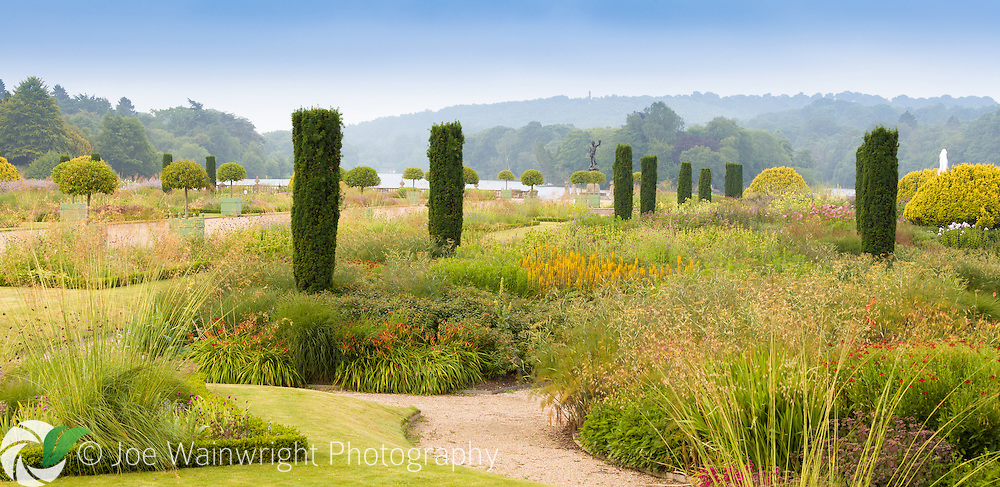 The Italian Garden at Trentham Gardens, Staffordshire This image is available for sale for editorial purposes, please contact me for more information.