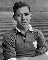 Fotball<br /> Foto: Colorsport/Digitalsport<br /> NORWAY ONLY<br /> <br /> ARTHUR ROWLEY - LEICESTER CITY 1954
