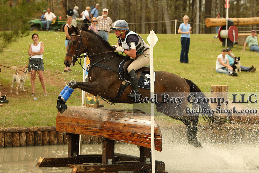 Karen O'Connor (USA) and Upstage at Poplar Place Spring Horse Trials held in Hamilton, Georgia