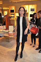 LAURENCE BET-MANSOUR at a breakfast at Roger Vivier, 188 Sloane Street to view the SS2014 Roger Vivier collections held on 20th March 2014.