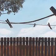 "Title: Horquillas<br /> Artist: Gina Gwen Palacios<br /> Date: 2014<br /> Medium: Oil on canvas<br /> Dimensions: 48 x 30""<br /> Instructor: Sydney Yeager<br /> Status: On Display<br /> Location: Cypress Creek Campus Bldg 1000"