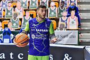 Marco Spissu<br /> Banco di Sardegna Dinamo Sassari - Iberostar Club Baloncesto 1939 Canarias Tenerife<br /> FIBA Basketball Champions League 2020-2021<br /> Sassari, 04/11/2020<br /> Foto L.Canu / Ciamillo-Castoria