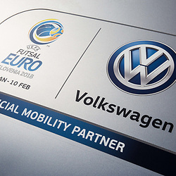 20170928: SLO, Futsal - UEFA EURO 2018 and Volkswagen as a new official mobility partner