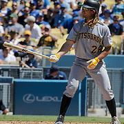 Aug 13 2016 - Los Angeles U.S. CA - Pittsburgh Pirates 1B # 2 John Jaso up at bat during MLB game between LA Dodgers and the Pittsburgh Pirates 8-4 lost at Dodgers Stadium Los Angeles Calif. Thurman James / CSM