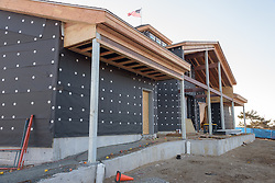 Meigs Point Nature Center at Hammonasset Beach State Park  <br /> Connecticut State Project No: BI-T-601<br /> Architect: Northeast Collaborative Architects  Contractor: Secondino & Son<br /> James R Anderson Photography New Haven CT photog.com<br /> Date of Photograph: 4 December 2015<br /> Camera View: 03
