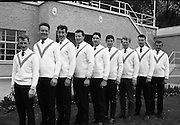 Garda Rowing Club with Gaeltarra Eireann Sweaters..30.09.1967