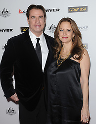 "John Travolta becomes Qantas Airlines ""Ambassador-ar-Large"". LAX, Los Angeles, CA. Pictured: Kelly Preston and daughter Ella Blue Travolta. EVENT June 24, 2002. 24 Jun 2000 Pictured: John Travolta,Kelly Preston. Photo credit: AXELLE/BAUER-GRIFFIN / MEGA TheMegaAgency.com +1 888 505 6342"