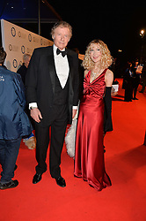 RICHARD & BASIA BRIGGS at Battersea Dogs & Cats Home's Collars & Coats Gala Ball held at Battersea Evolution, Battersea Park, London on30th October 2014.