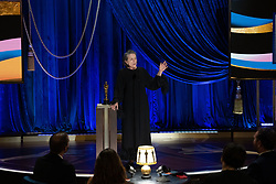 Frances McDormand accepts the Oscar® for Actress in a Leading Role during the live ABC Telecast of The 93rd Oscars® at Union Station in Los Angeles, CA, USA on Sunday, April 25, 2021. Photo by Todd Wawrychuk/A.M.P.A.S. via ABACAPRESS.COM