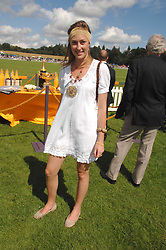 LADY TATIANA MOUNTBATTEN at the final of the Veuve Clicquot Gold Cup 2007 at Cowdray Park, West Sussex on 22nd July 2007.<br /><br />NON EXCLUSIVE - WORLD RIGHTS