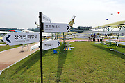 Chungju, South Korea. General Views Boathouse, and other buildings, 2013 FISA World Rowing Championships,  at the Tangeum Lake International Regatta Course. 11:34:57  Saturday  24/08/2013 [Mandatory Credit. Peter Spurrier/Intersport Images]