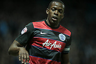 Nedum Onuoha (C) (QPR) during the Sky Bet Championship match between Sheffield Wednesday and Queens Park Rangers at Hillsborough, Sheffield, England on 23 February 2016. Photo by Mark P Doherty.