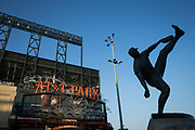 The San Francisco Giants host the Oakland Athletics during a MLB preseason game at AT&T Park in San Francisco, California, on March 30, 2017. (Stan Olszewski/Special to S.F. Examiner)
