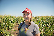 Tessa Peters is a graduate student of sweet corn under Bill Tracy at the University of Wisconsin, Madison.
