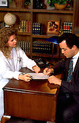Argentinean  patient signing doctors form age 32.  St Paul Minnesota USA